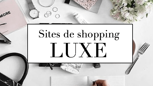 site de shopping luxe
