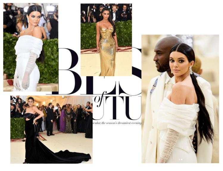 Kardashian look MET 2018